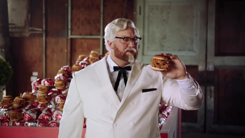 Полная версия Звезда ИГРЫ ПРЕСТОЛОВ Хафтор Бьёрнсон в роли полковника Сандерса - KFC