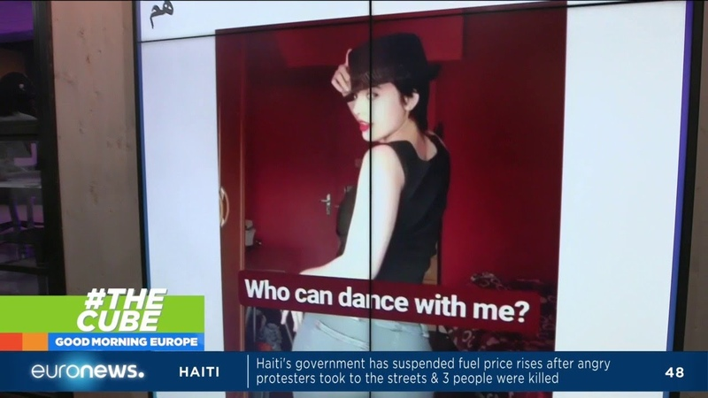 People show support for Maedeh Hozhabri was arrested after posting videos of herself dancing online