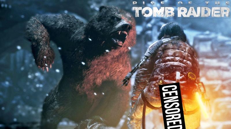 Rise of the Tomb Raider Лара паук фап контент