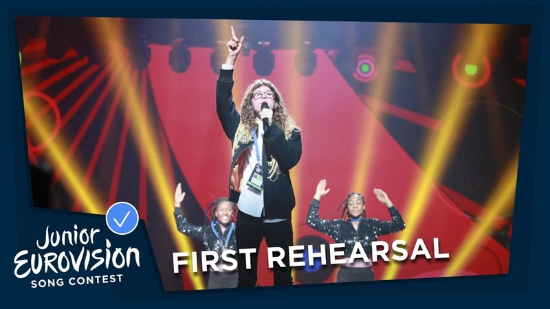 Taylor Hynes - IOU - First Rehearsal - Ireland 🇮🇪 - Junior Eurovision 2018