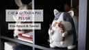 DIY Plush Cat and Guinea Pig FREE Cat Sewing Pattern