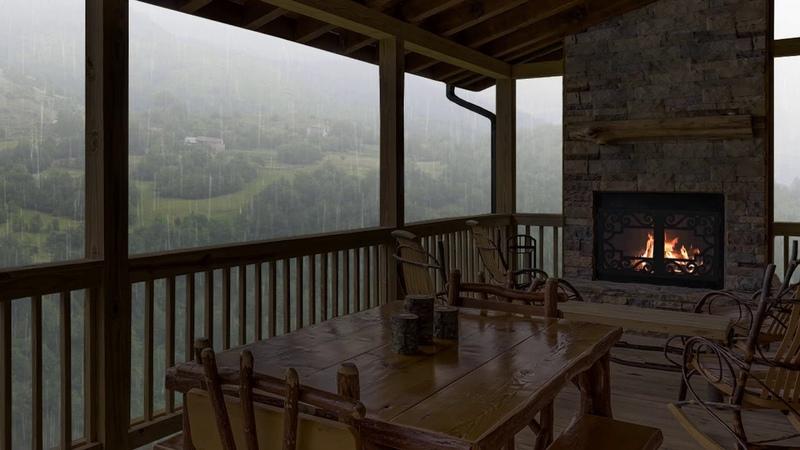 Rain and Thunder | Sleep, Study, Relax | Rainstorm White Noise 5 Hours