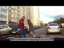 Таксист отхватил леща от бэтмана