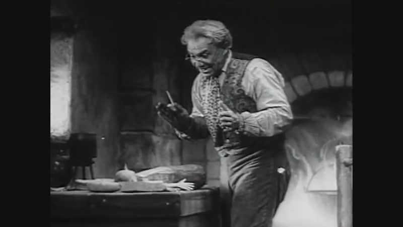 Золотой ключик. (1939). СССР. Х/ф. Детский.