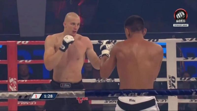 Алексей Иванов VS Ясубей Эномото (Платформа S-70 - 22 август 2018)