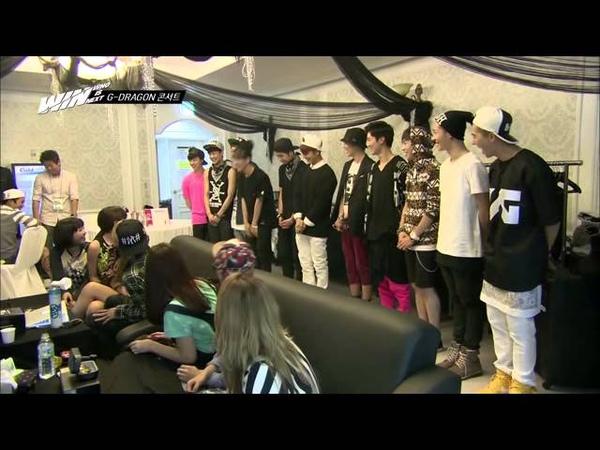 YG WIN: Team A B w/ YG Family