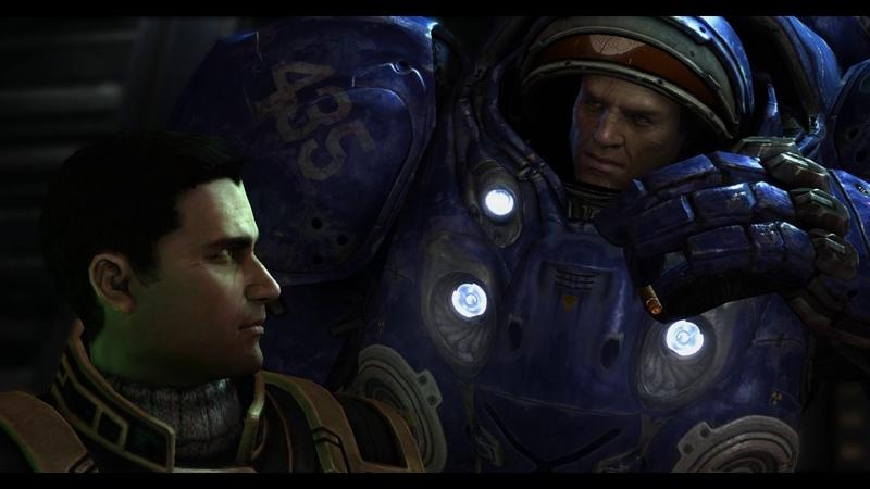 StarCraft II. Встреча с Валерианом.