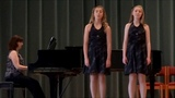 (2013) Makayla Lynn Parry and Abigail Sinclair ~ Lullaby by Josh Groban