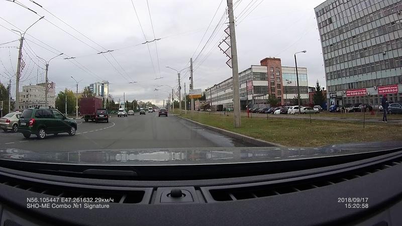 ДТП 17.09. 2018 15-20 кольцо К. Ивановна