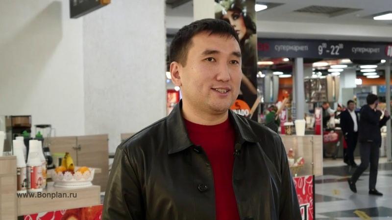 Отзыв о покупке франшизы «Waffle patio» представителя в Алматы