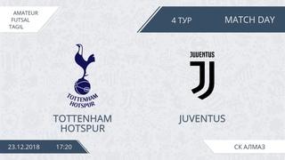 23.12.2018 Tottenham-Juventus.Nizhny Tagil. Afl.