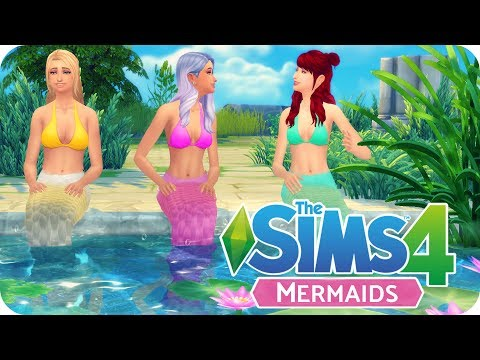 MERMAIDS MOD - SCALES, MERMAID TAILS SIREN'S SONG   Sims 4 Mod Review