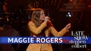 Maggie Rogers Burning The Late Show with Stephen Colbert 22 01 2019