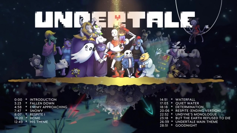 Undertale The Half Hour Orchestrated Medley