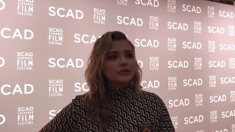 Chloë Grace Moretz - Savannah film festival 2018
