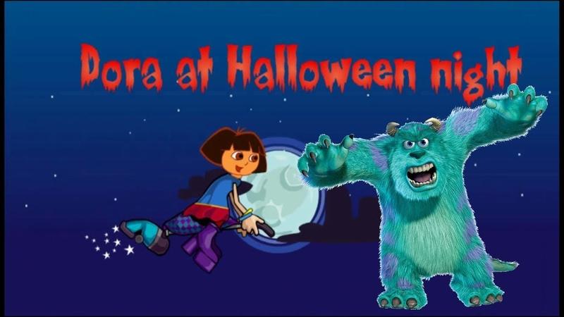Даша Путешественница (Следопыт) Хэллоуин полет на метле