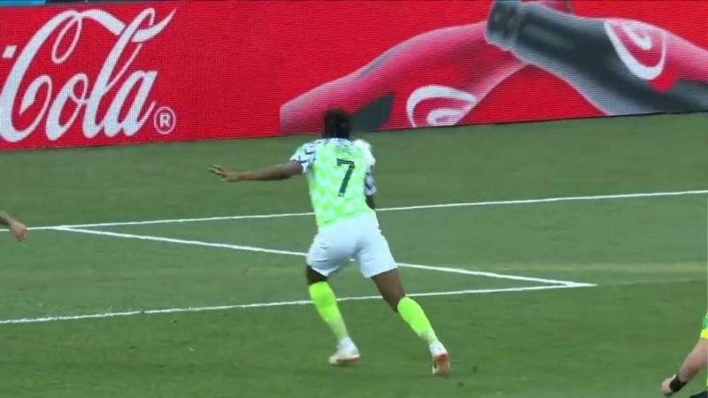ЧМ 2018 Ахмед Муса 1-ый Гол сборной Нигерии