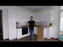 Угловая кухня с фурнитурой Blum (Блюм). Фасады МДФ. Столешница и мойка из кварца.