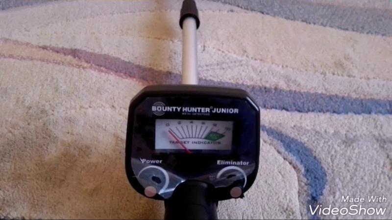 Металлоискатель Bounty Hunter Junior. Обзор