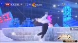 Yulia Lipnitskaya / Dima Bilan (very brief clip) - New Years in Beijing 2018/2019 Дмитрий Била́н