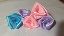 Cara membuat bunga mawar dengan mudah dan cepat dari pita satin