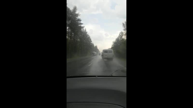 Московская область город орехово зуево, дожд грозо🌩️🌦️🌦️🌪️