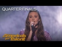 Makayla Phillips: 15-Year-Old Performs Beautiful Rendition Of Issues - America's Got Talent 2018