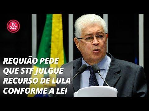 Requião pede que STF julgue recurso de Lula conforme a lei