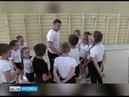В спортшколе № 3 провели «Зарядку со стражем порядка»