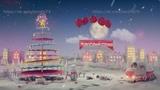 Футаж, заставка, для новогоднего утренника в 2019