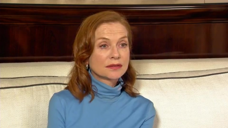 Isabelle Huppert interview