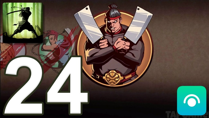 Shadow Fight 2 - Gameplay Walkthrough Part 24 - Act 3 Boss: Butcher (iOS, Android)
