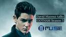 David Mazouz at the Gotham Season 5 Premiere