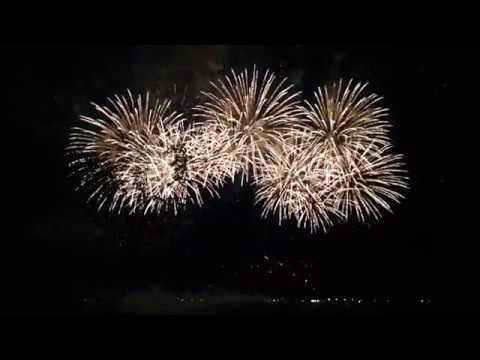13 Фестиваль фейерверков Большая Волга. Салют Поморья (Северодвинск). 28.07.2018г