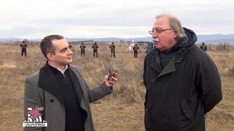 Григол Вашадзе: патриоты Грузии голыми руками остановили оккупацию