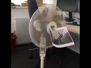 Рэмбо вентилятор!