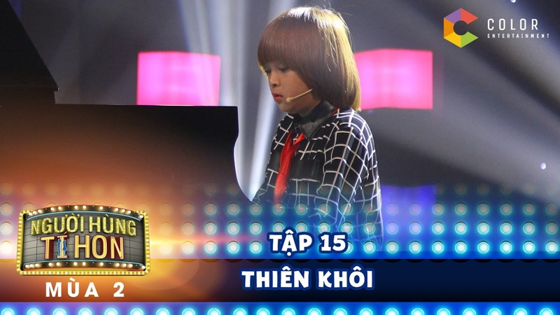 Người hùng tí hon 2| tập 15 Gala: Thiên Khôi hát đầy nội lực trong ca khúc mới