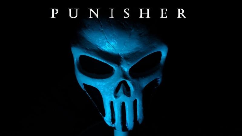 Как сделать маску Карателя How make mask Punisher