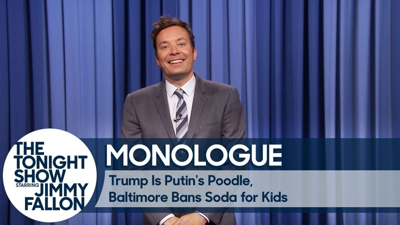 Trump Is Putin's Poodle Baltimore Bans Soda for Kids