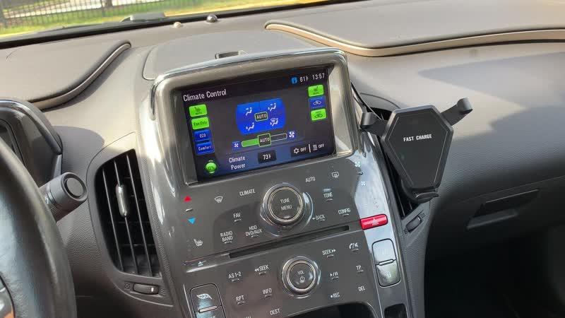 Соединить с телефоном Chevrolet Volt