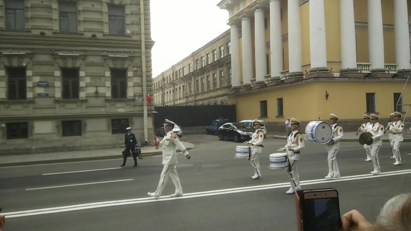 Kaćuša od Vojnog orkestra Ratne mornarice Kine Prvi deo