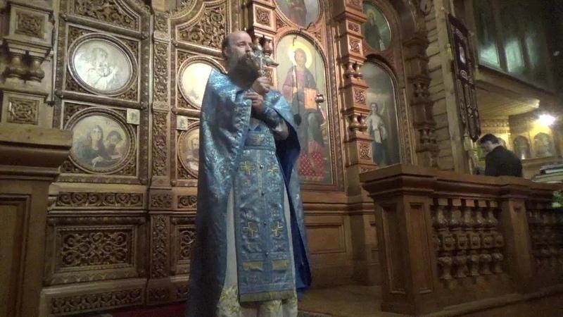 Проповедь иеромонаха Мефодия Зинковского Мудрые девы как образ христианских душ