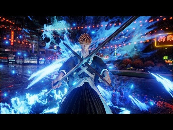 Jump Force - True Shikai Ichigo, Aizen and Rukia Images