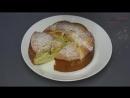 Простейший вкуснейший бисквитный пирог Можно готовить с любыми фруктами
