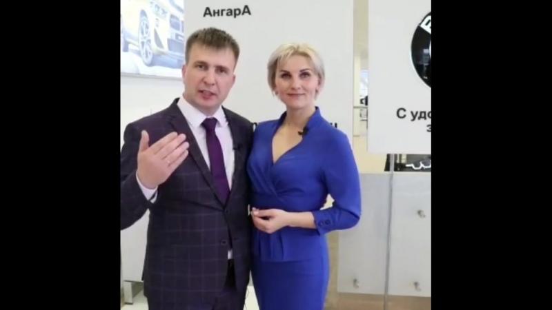 Семейная пара Николай и Анна Турушевы из УланУдэ и новый автомобиль BMW3 серии