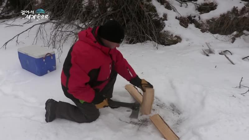 【K】Canada Travel-Whitehorse _Fish Lake_Yukon_Ice fishing_Brook trout_Rainbow