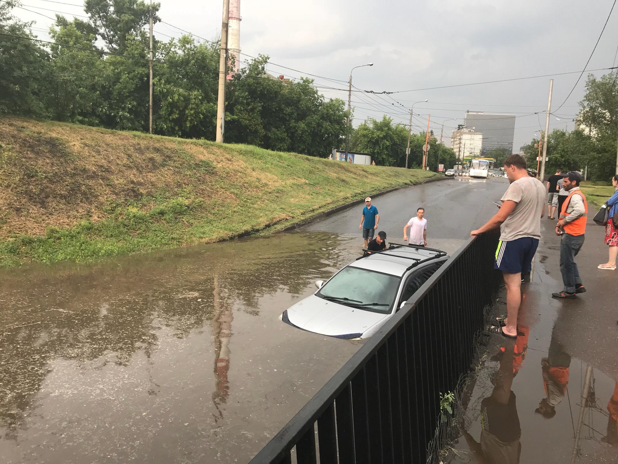 Красноярск ливень фото