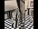 飛び出す絵本を参考にして切り絵で札幌世界ホテル作りました 折り紙1枚位の大きさに折り畳めるので収納が楽w ゴールデンカムイ 切り絵