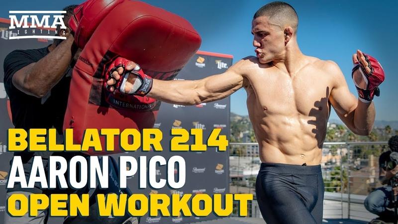 Bellator 214 Открытая тренировка Аарона Пико