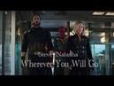 Steve Rogers Natasha Romanoff Wherever You Will Go Infinity War